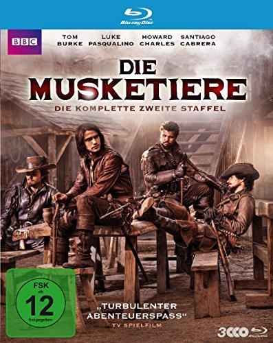 Die Musketiere - Die komplette zweite Staffel [Blu-ray]