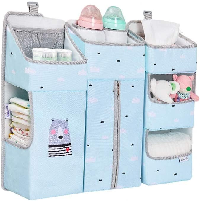 Don't miss the campaign Storage Bag Multifunctional Crib NEW Detachable Hanging