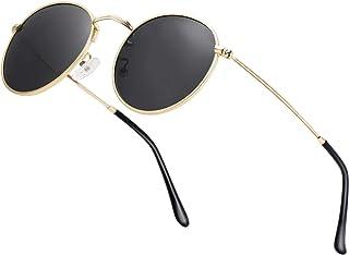 Small Round Polarized Sunglasses Retro Men Women Mirrored...