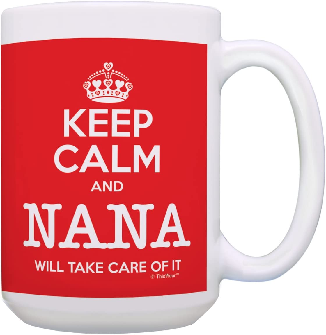 Mothers Day Gifts for Grandma Keep Very popular Care and Max 87% OFF Take Calm Nana Will