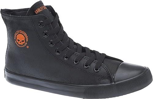 Harley-Davidson hombres High Top Turnzapatos negro, SchuhTamaño EUR 40