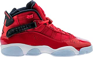 323419-601: Boy's 6 Rings (GS) Gym Red/Black/White Sneaker