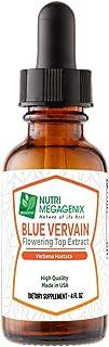 Sponsored Ad - Nutri Megagenix Blue Vervain Drops. (Verbena hastata herb Plant) Flowering Top Extract 650 mg. 4 Oz. Liquid...