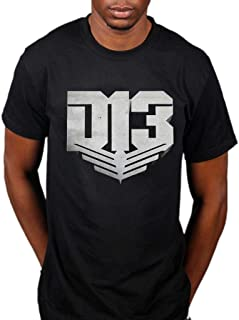 AWDIP Men's Official Hunger Games District 13 T-Shirt Television Movie Catching Fire Panem