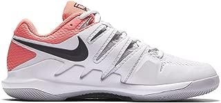 Womens Zoom Vapor X Tennis Shoes (9.5 B US, Vast Grey/Black/Atmosphere Grey)