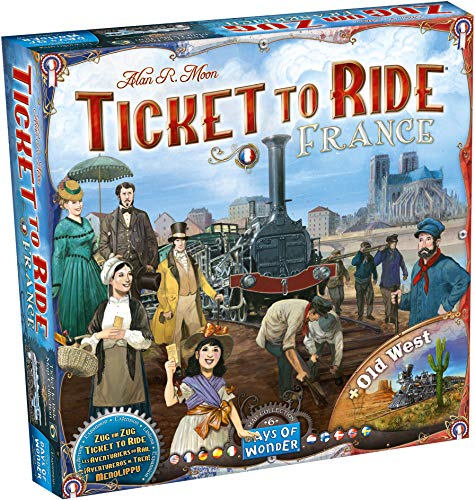Asmodee- Ticket to Ride Map Collection-Francia Gioco da Tavolo, Multicolore, 8506