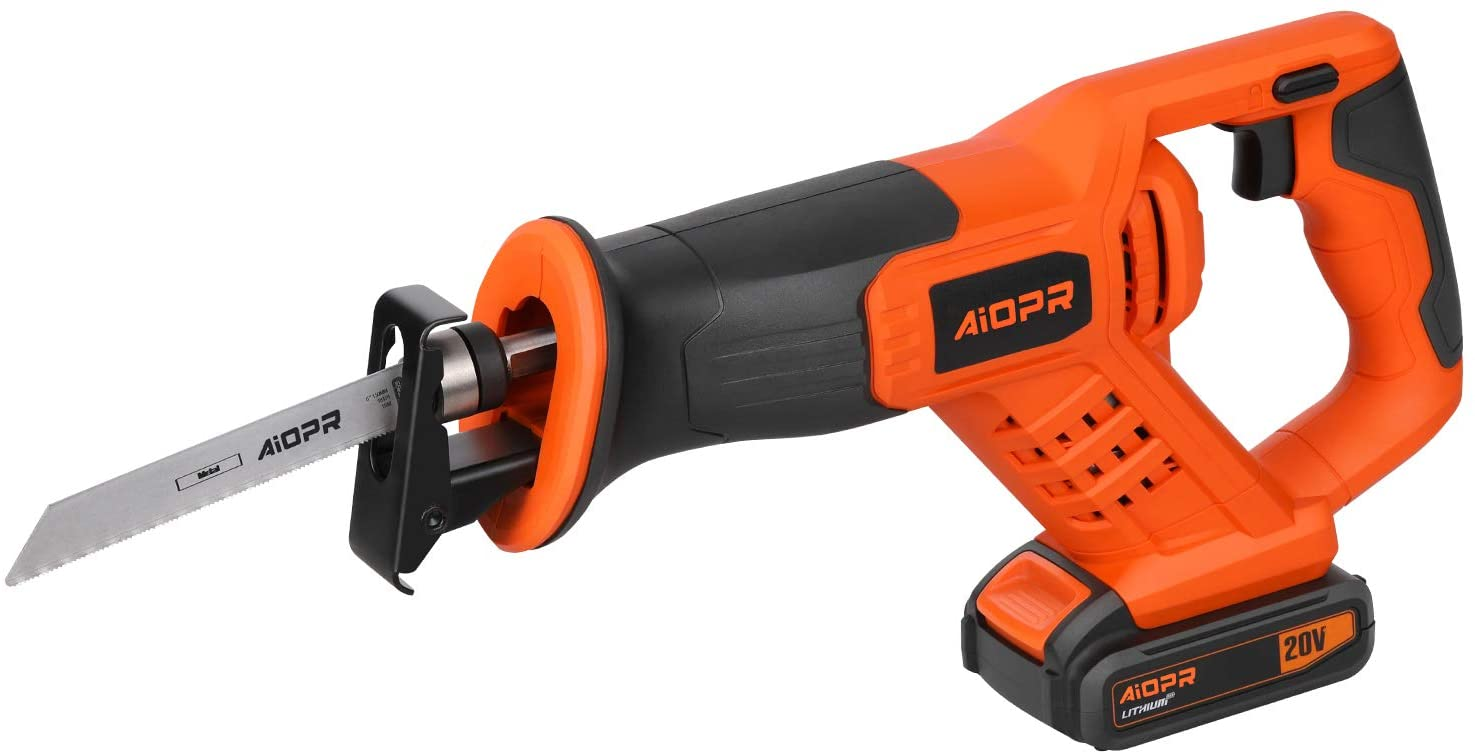 Max 78% OFF AIOPR 20V Cordless Reciprocating Saw with 5 Ranking TOP13 97705 Blades