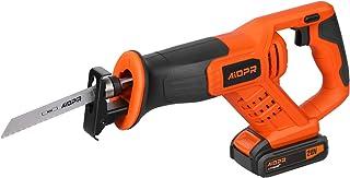 AIOPR 97705 - Sierra recíproca inalámbrica de 20 V con 5 cuchillas