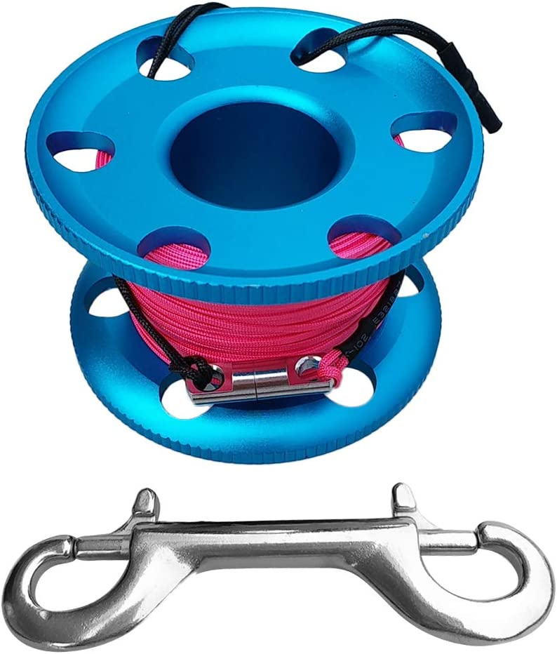 simhoa Scuba Diving Max 89% Super sale OFF Finger Spool LineDouble Ended Nylon Reel S