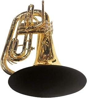 جلد زنگ ساز موسیقی KYT 10 اینچ ، قابل شستشو و قابل استفاده مجدد ، جلوی زنگ دو لایه برای ترومبون باریتون (زنگ بزرگ) Mellophone Marching Trombone Marching Baritone Marching شاخ فرانسوی