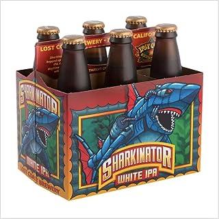 Lost Coast Sharkinator White IPA bottle, 355ml (Pack of 6)