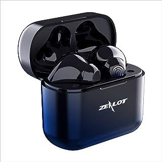 Auriculares Inalámbricos, Auriculares con microfono,HiFi Estéreo Auriculares Bluetooth,Control Táctil,Cancelación de Ruido...