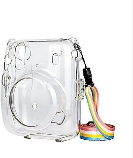 DELFINO Protective Clear Case, Instant for Mini 11 Clear Case, Compatible with for Fujifilm Instax Mini 11 Instant Camera,...