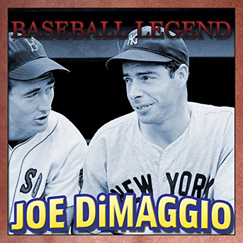 Baseball Legend Joe DiMaggio cover art