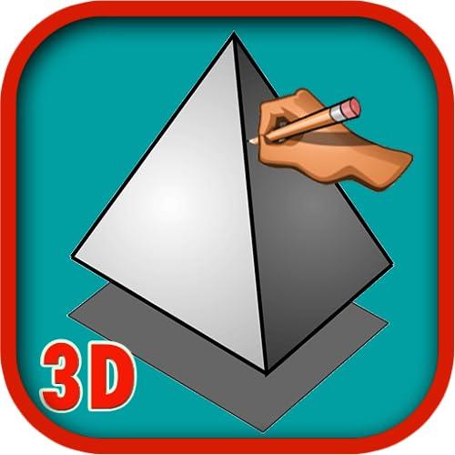 Wie man 3D Schritt für Schritt zeichnet