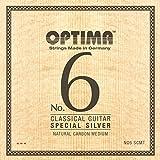 オプティマ(OPTIMA)ギター弦 No6.SCMT スペシャルシルバー・ナチュラルカーボン・ミディアム セット