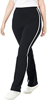 Best womens white pants with black side stripe Reviews