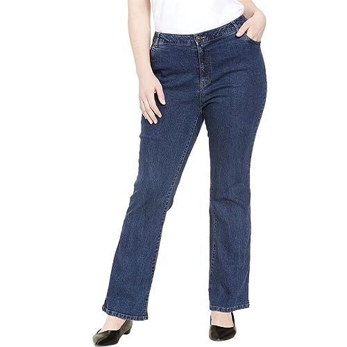 4397e1cf06b Jessica London Women s Plus Size Tall True Fit Bootcut Jeans