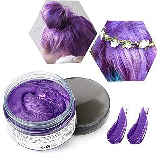 Wosk do włosów tymczasowa farba do włosów, unisex, farbowanie do włosów, wosk, nadająca się do prania formuła roślinna, ma...