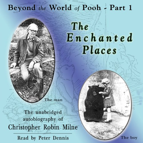 The Enchanted Places audiobook cover art