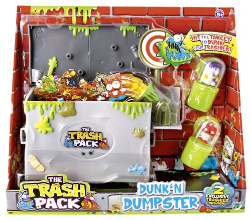Trash Pack Müllcontain. m. 2 Müllmonster