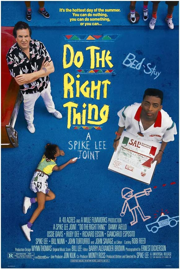 """Atlanta Mall Do the Right Thing Indefinitely 18""""x28"""" Movie Lee Spike Poster"""