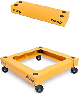 Dozop Self-Contained Compact Dolly - Portable Multipurpose Four Wheel Moving Cart - Lightweight & Heavy Duty Handtruck/Pus...
