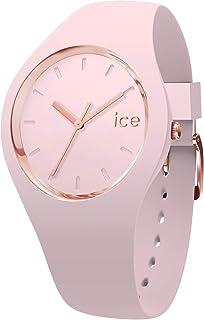 Ice-Watch - Ice Glam Pastel Pink Lady - Montre Rose pour Femme avec Bracelet en Silicone