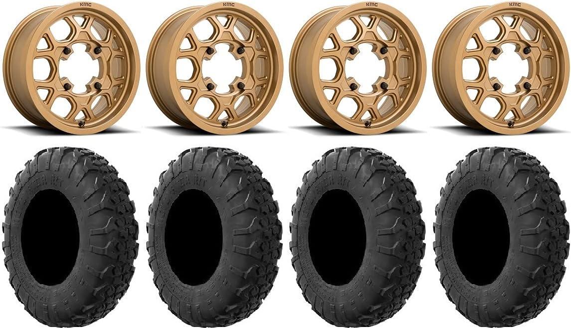 Bundle - 9 Max 45% OFF Items: KMC Mesa Bronze Wheels MotoVator 15