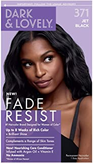 Dark & Lovely Fade Resistant Jet Black Permanent Hair Color Jet Black