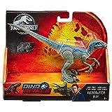 Jurassic World Dino-cras Velociraptor Blue, huevo de dinosaurio de juguete (Mattel GCR55)