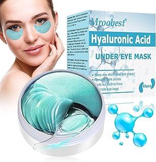 Mascara Para Los Ojos, Ojos Parches, Eye Mask, Máscara para ojos de colágeno, Parches Hidrogel para Ojos, Reduce las bolsa...