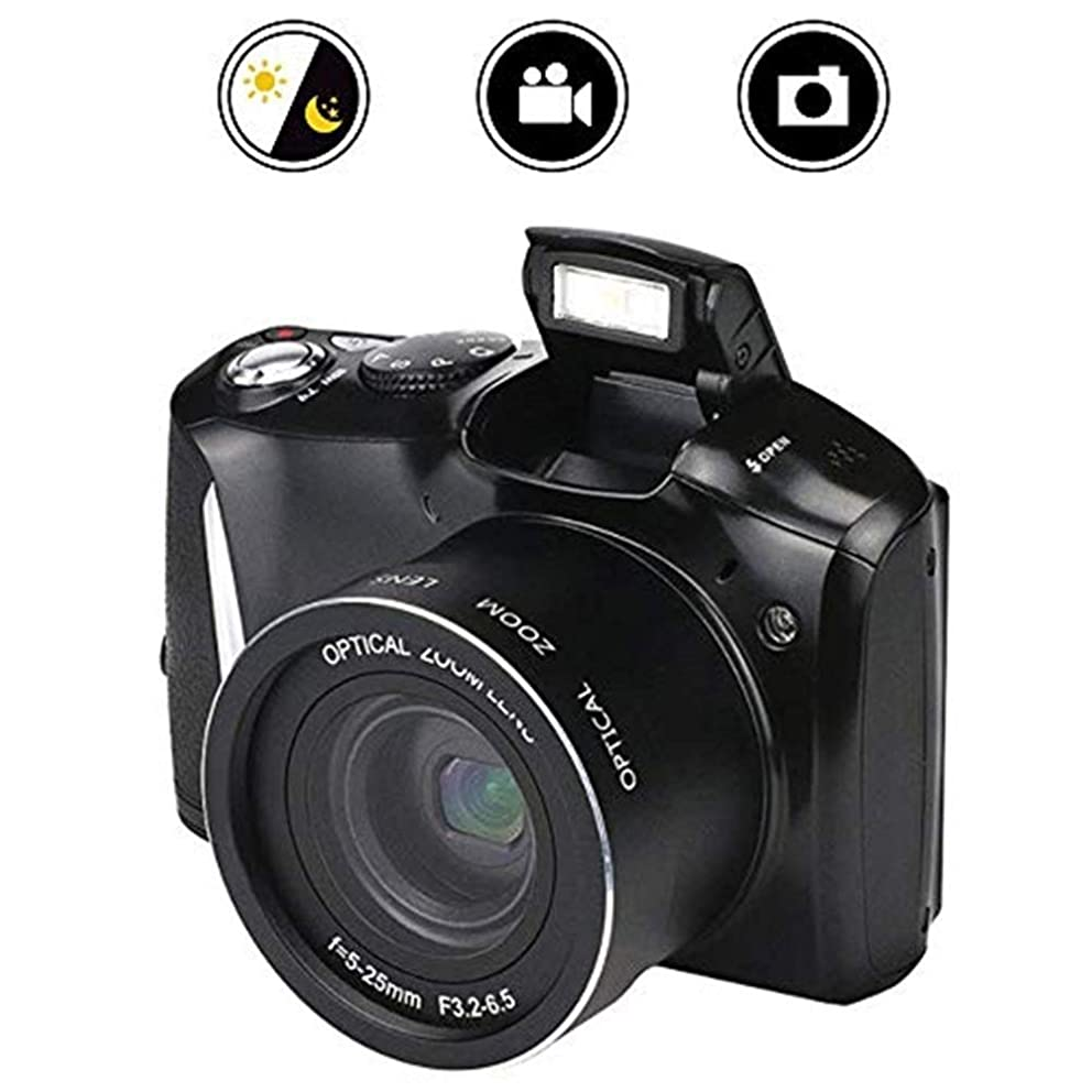 ETRCPVSAV Go pro Camera SLR Digital Camera, 24 Million HD Pixel Home 16X Zoom SLR Video Camera,Support Multiple Mode Shooting with High-Speed Continuous Shooting Function Action Camera