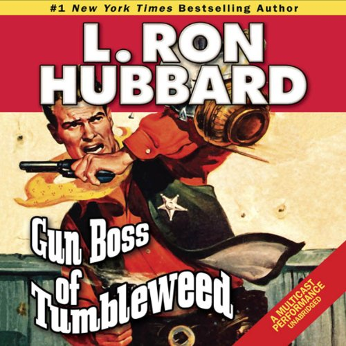 Gun Boss of Tumbleweed audiobook cover art
