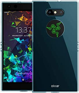 Olixar Gel Case for Razer Phone 2 - Silicone Slim Cover - Scratch Resistant - Wireless Charging Compatible - FlexiShield - Blue