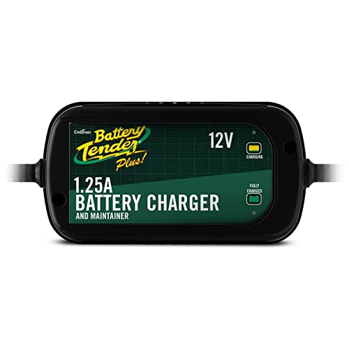 Battery Tender 022-0185G-dl-wh Black 12 Volt 1.25 Amp Plus Battery