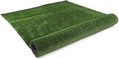 Primeturf 10SQM/2 x 5m Synthetic Fake Artificial Grass Turf 15mm Thickness