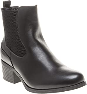 SOLESISTER Quincy Chelsea Womens Boots Black