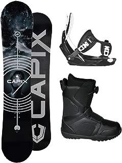 2019 Level Men's Snowboard Package Flow Bindings BOA Boots - Board Size 157