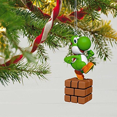 Hallmark Keepsake 2017 Super Mario Yoshi Christmas Ornament