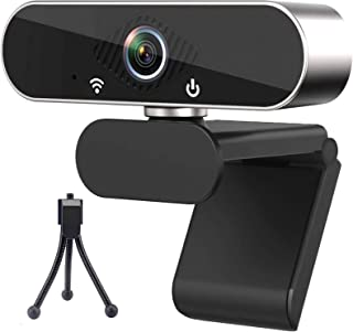 1080P Webcam with Microphone, USB Web Camera for Computer, Streaming Webcam for PC Laptop/Desktop, Zoom/Skype/Teams/YouTub...