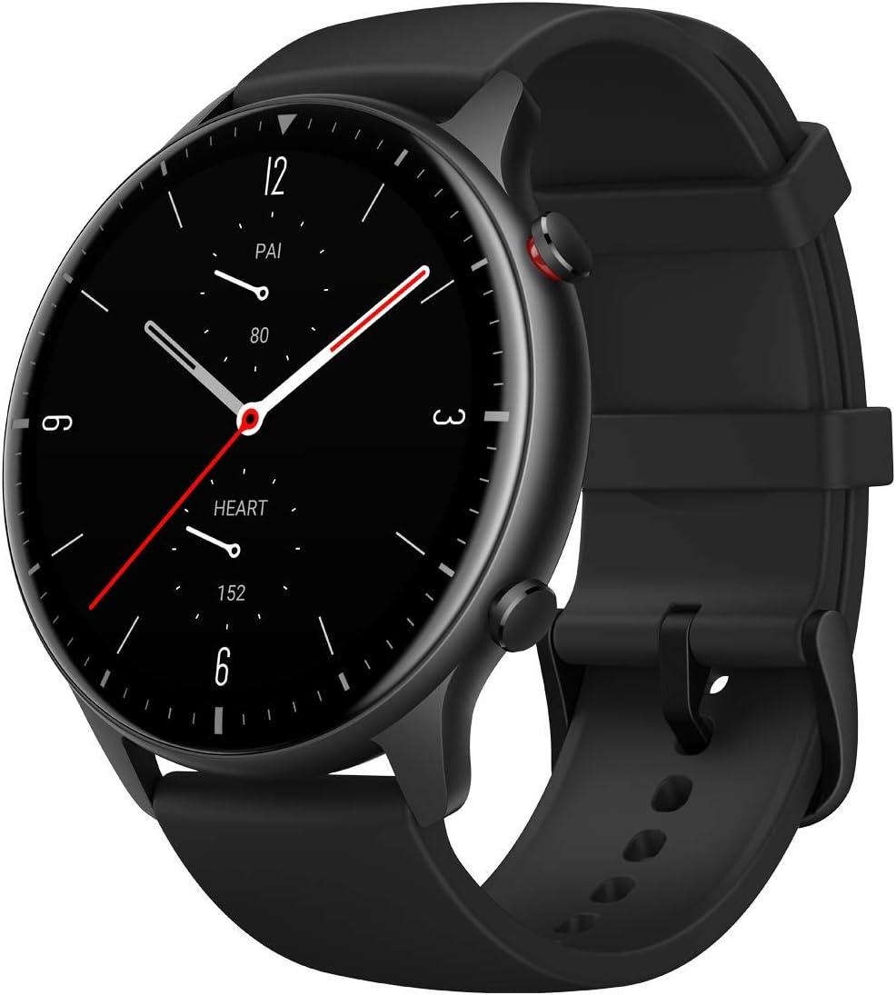 Amazfit Smartwatch GTR 2 Orologio Intelligente Sportivo Fitness Tracker 1,39 Pollici Impermeabile 5 ATM Cronometro con GPS, Bluetooth, Contapassi, Memoria musicale da 3 GB (Lega di Alluminio)