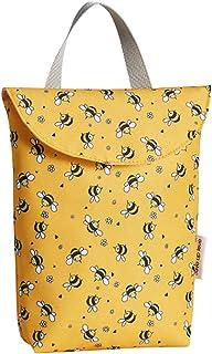 Fanspack Lady Diaper Handbag Cute Cartoon Mommy Handbag Splash Proof Nappy Storage Bag