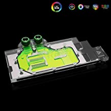 GPU Copper RBW LED Water Cooling Block for NVIDIA Quadro RTX5000 RTX6000 RTX8000 M6000 (M6000 GPU Block)