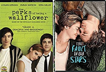The Perks of Being a Wallflower + Fault in Our Stars Romance Movie DVD Set Double Love Twice as Much