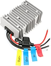 uxcell New BIG-Size Voltage Converter Regulator DC/DC DC 48V Step-Down to DC 12V 30A 360W Buck Transformer Waterproof