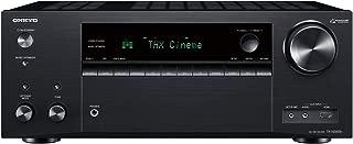 Onkyo TX-NR696 Smart AV Receiver Works with Sonos   4K Ultra HD   AirPlay 2   Dolby Atmos (2019 Model)