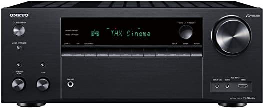 Onkyo TX-NR696 Home Audio Smart Audio and Video Receiver, Sonos Compatible and Dolby Atmos Enabled, 4K Ultra HD and AirPla...