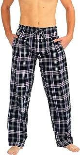 Mens Pajama Sleep Lounge Pant - 100% Cotton Poplin - 8 Prints