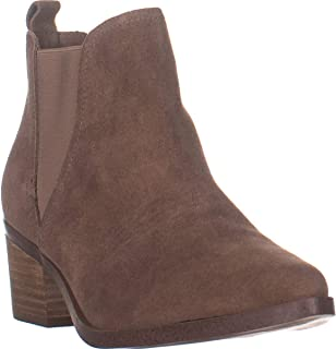 Dolce Vita Zipporah Slip On Ankle Boots, Taupe